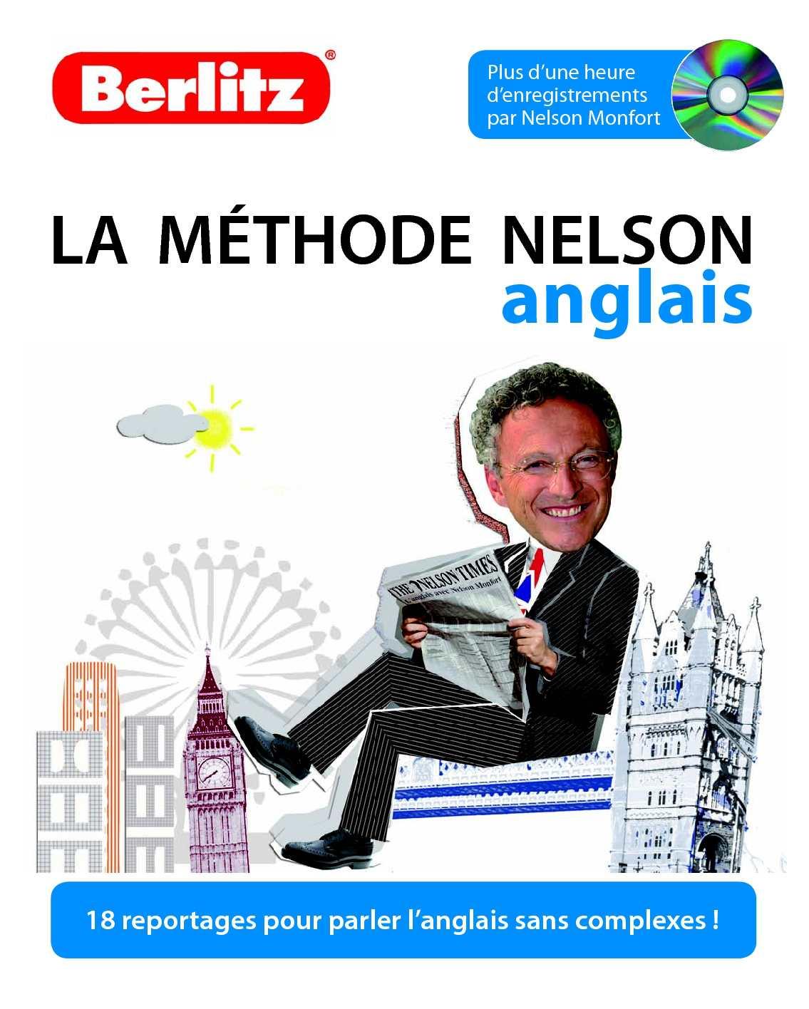 Apprenez l'anglais avec la méthode de langue Nelson Monfort - Berlitz éditions