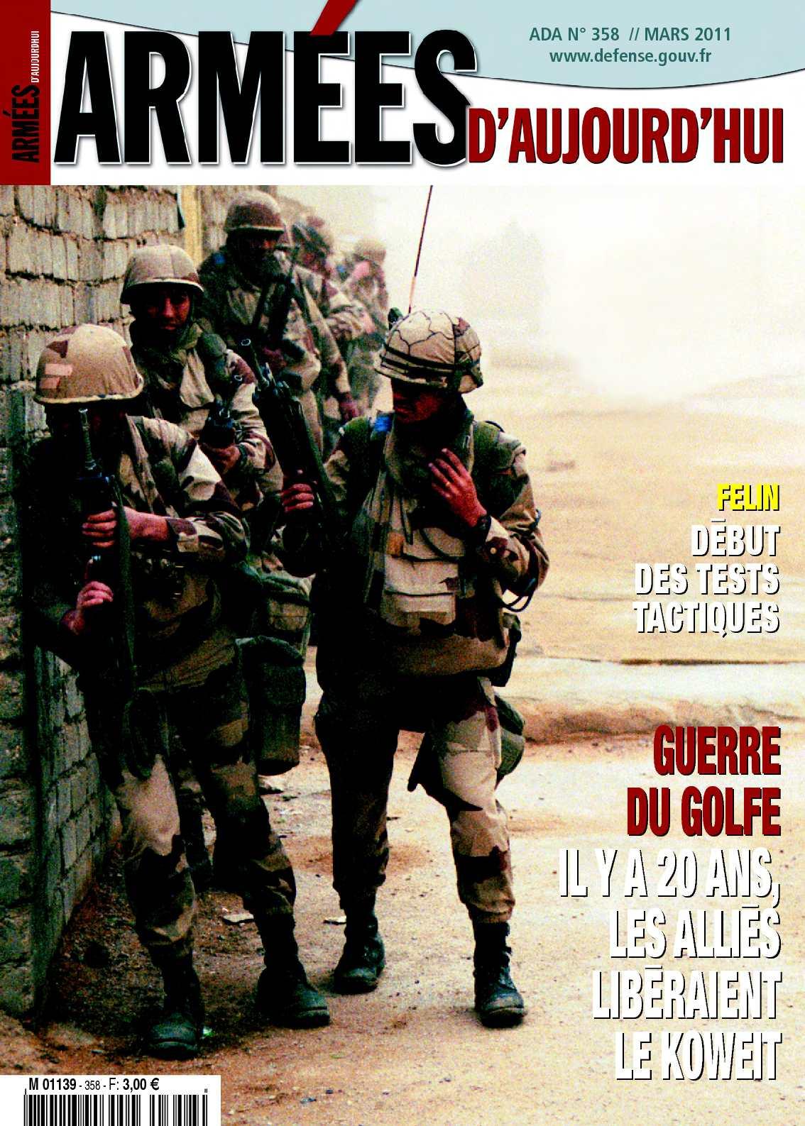 Armées d'aujourd'hui n°358
