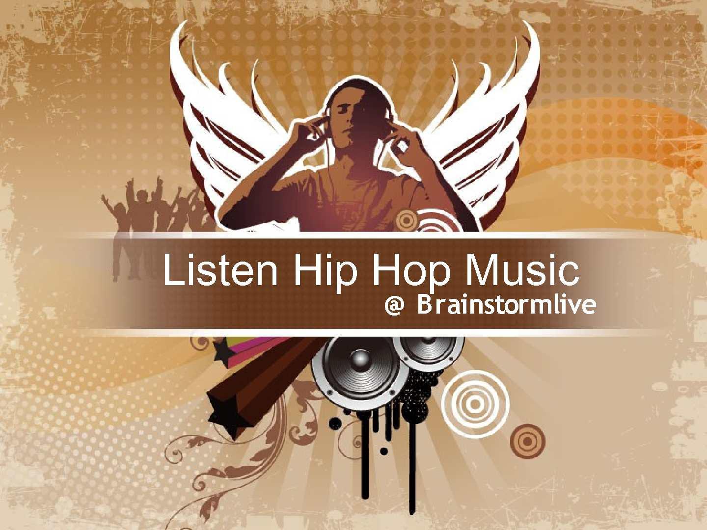Listen hip hop music