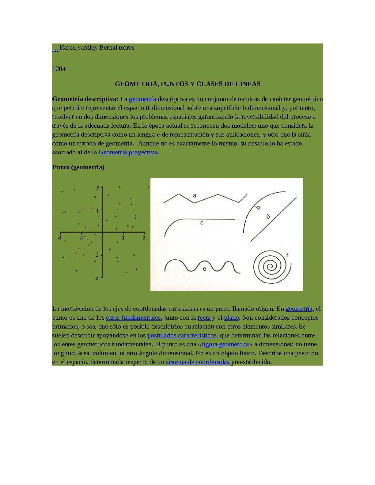 Calaméo - geometria, puntos y lineas