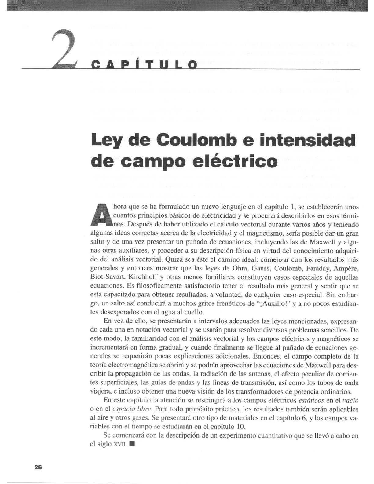 CAP2 LEY DE COULOMB