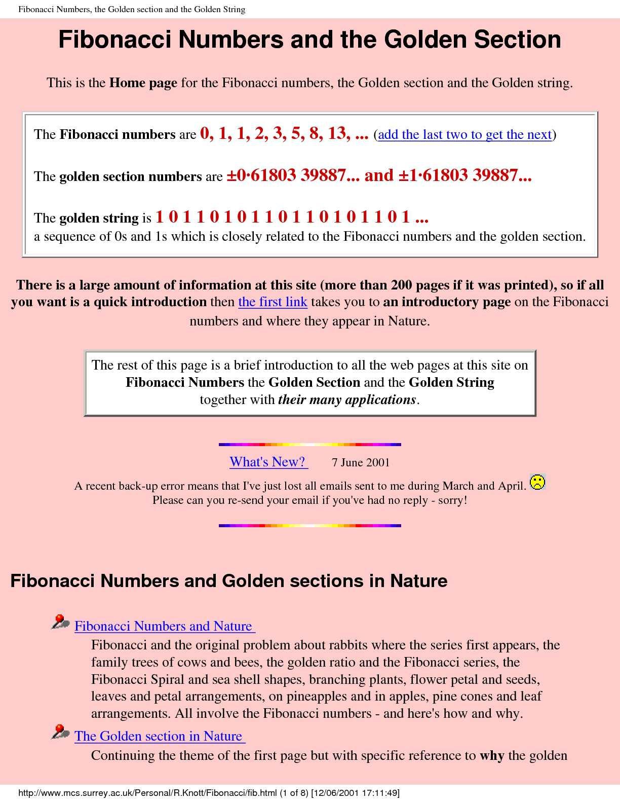 Calamo fibonacci numbers and the golden sectionpdf publicscrutiny Images