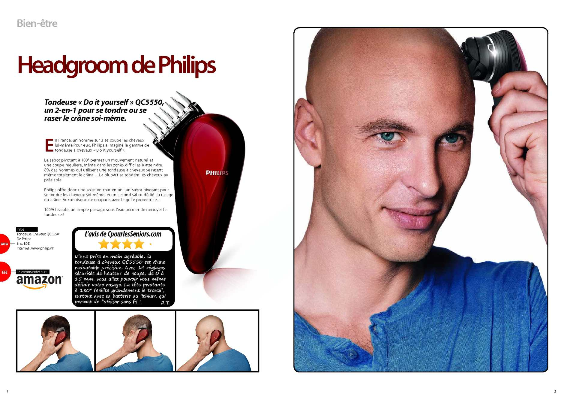 comment se raser les cheveux soi meme homme coiffures populaires. Black Bedroom Furniture Sets. Home Design Ideas