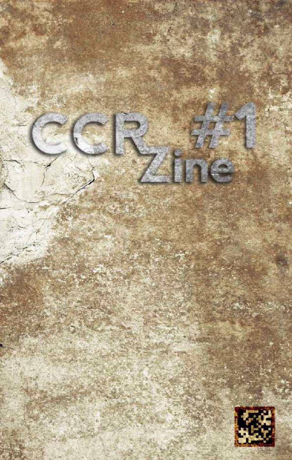 CCR Zine #1