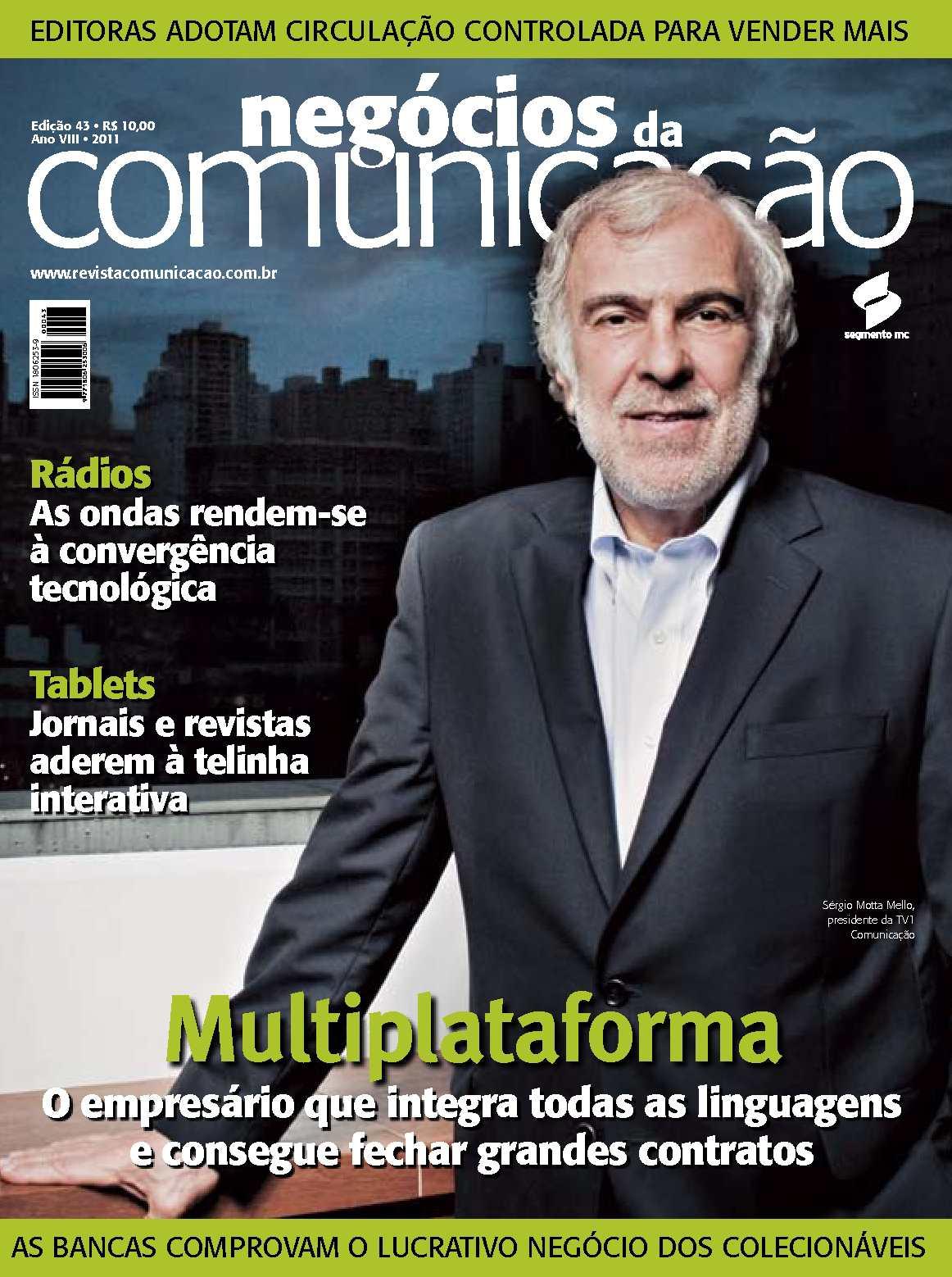 eac12c4fdd Calaméo - Negócios da Comunicação - Edição 43