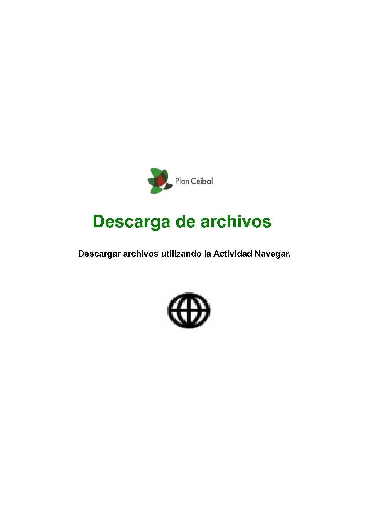 Descarga de archivos