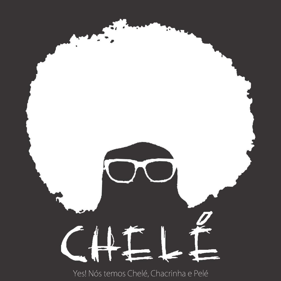Encarte CD - CHELÉ - Yes! Nós temos Chelé, Chacrinha e Pelé