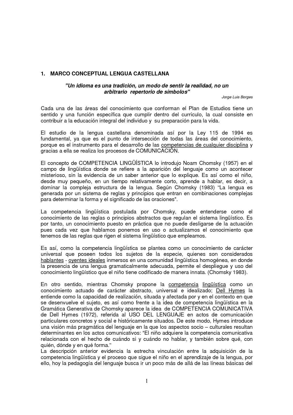 Calaméo - PLAN DE ESTUDIOS LENGUA CASTELLANA