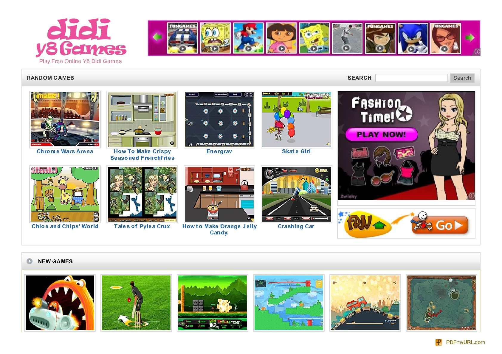 Calaméo Y8 Y8 Games Didi Games at Didiy8games