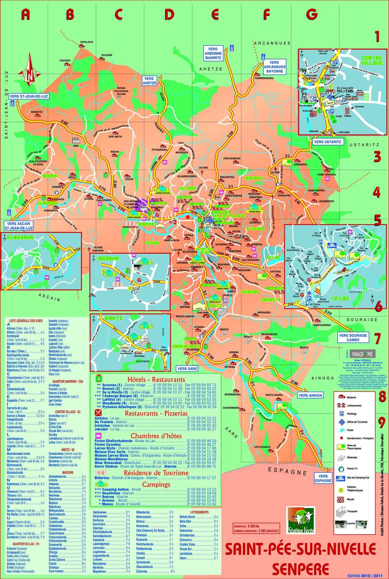 Calaméo Plan de Saint Pée sur Nivelle Pays Basque Terre et
