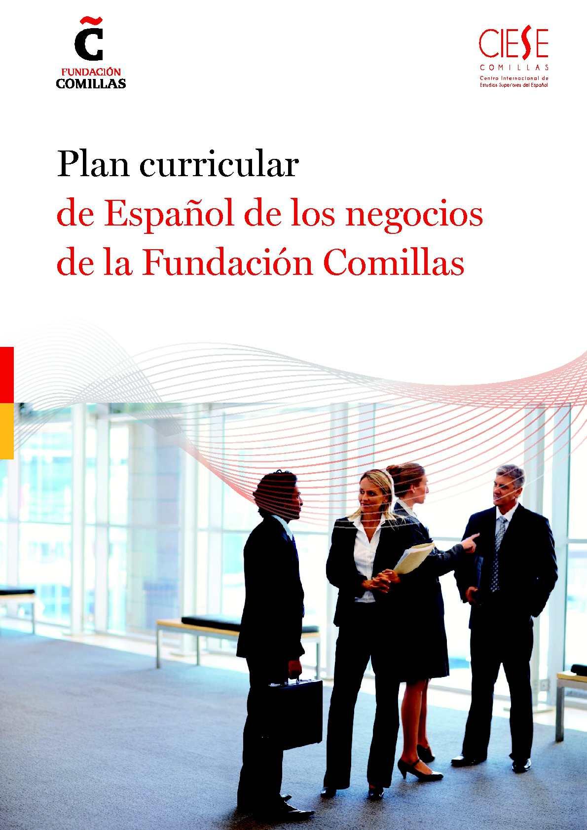 Calaméo - Plan Curricular Comillas Español Negocios