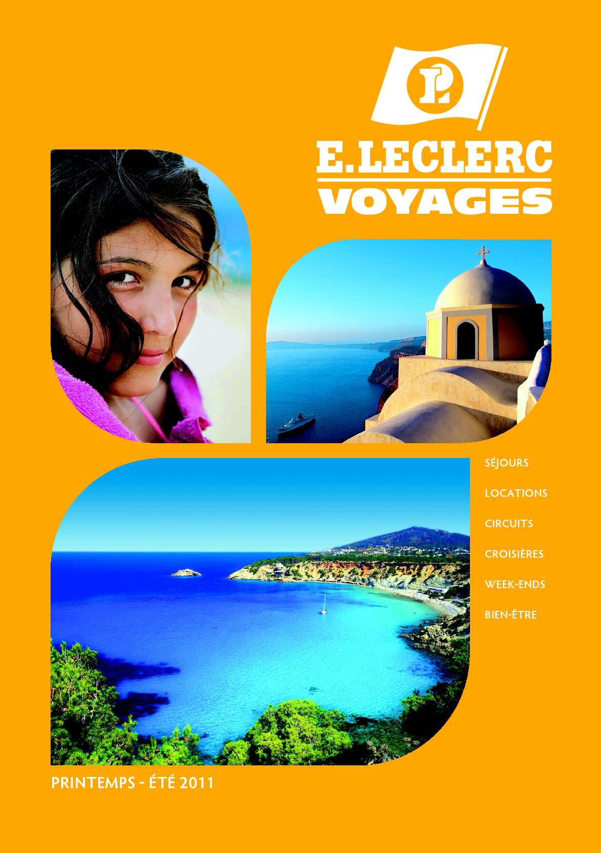 Calam o e leclerc voyages brochure t 2011 for Leclerc brochure