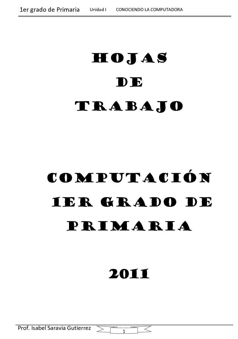 manual 1er