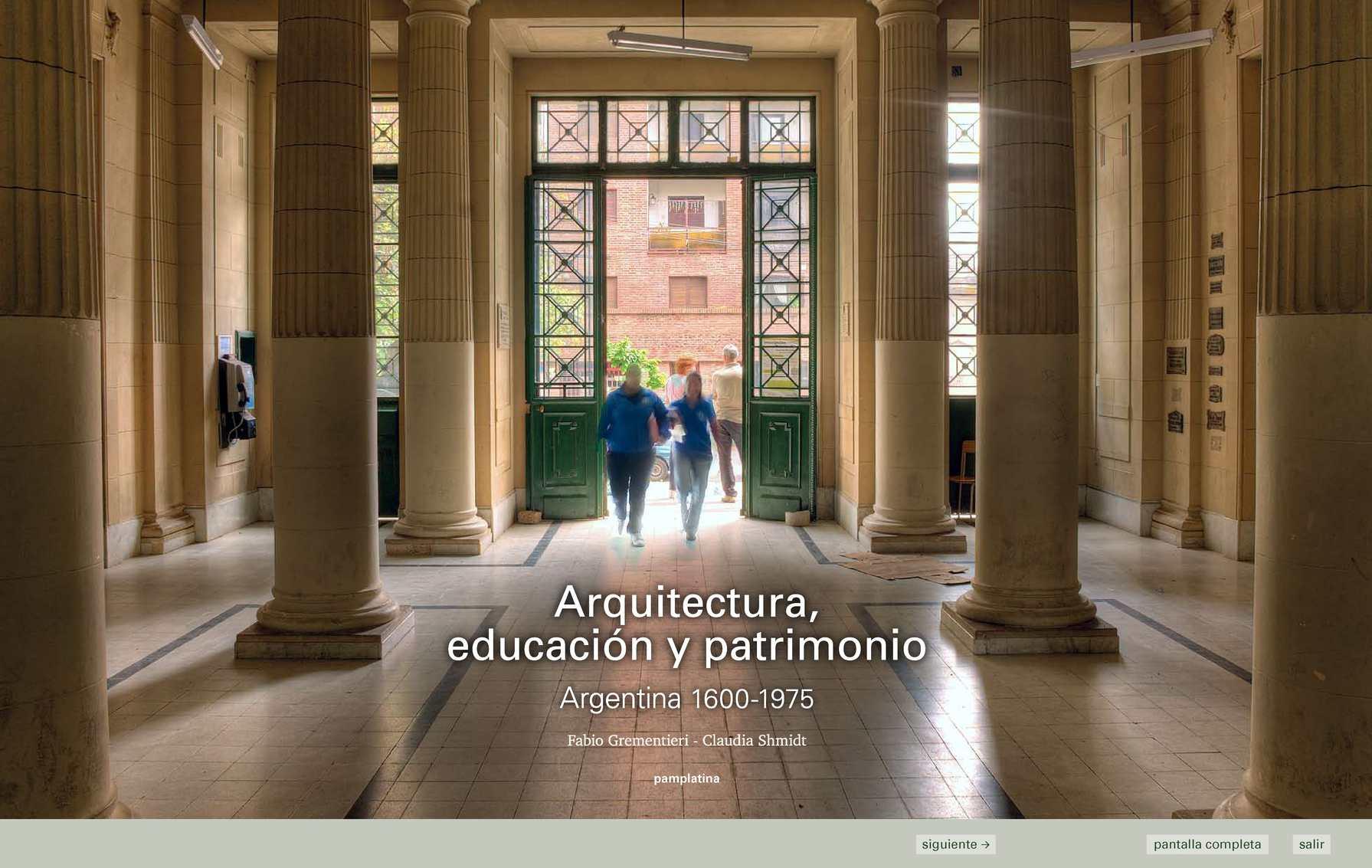 Calaméo - Arquitectura-educacion-y-patrimonio