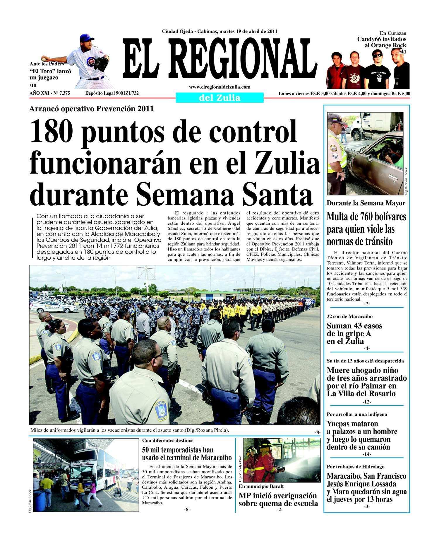 Calaméo - El Regional del Zulia 19-04-2011