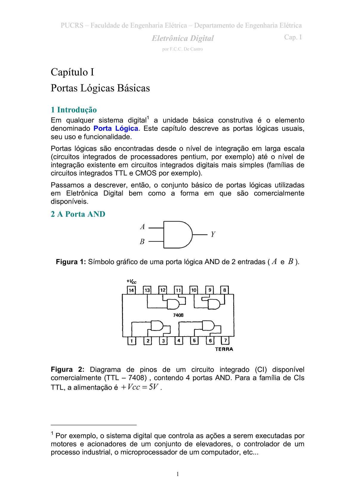 Circuito Integrado Simbolo : Simbolo de circuito integrado puertas