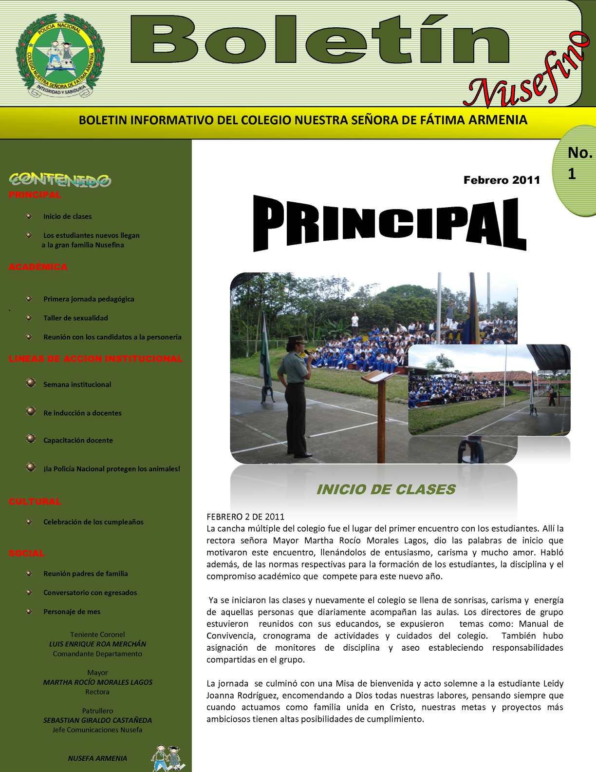 Calam o boletin informativo no1 febrero 2011 for Que es un vivero escolar