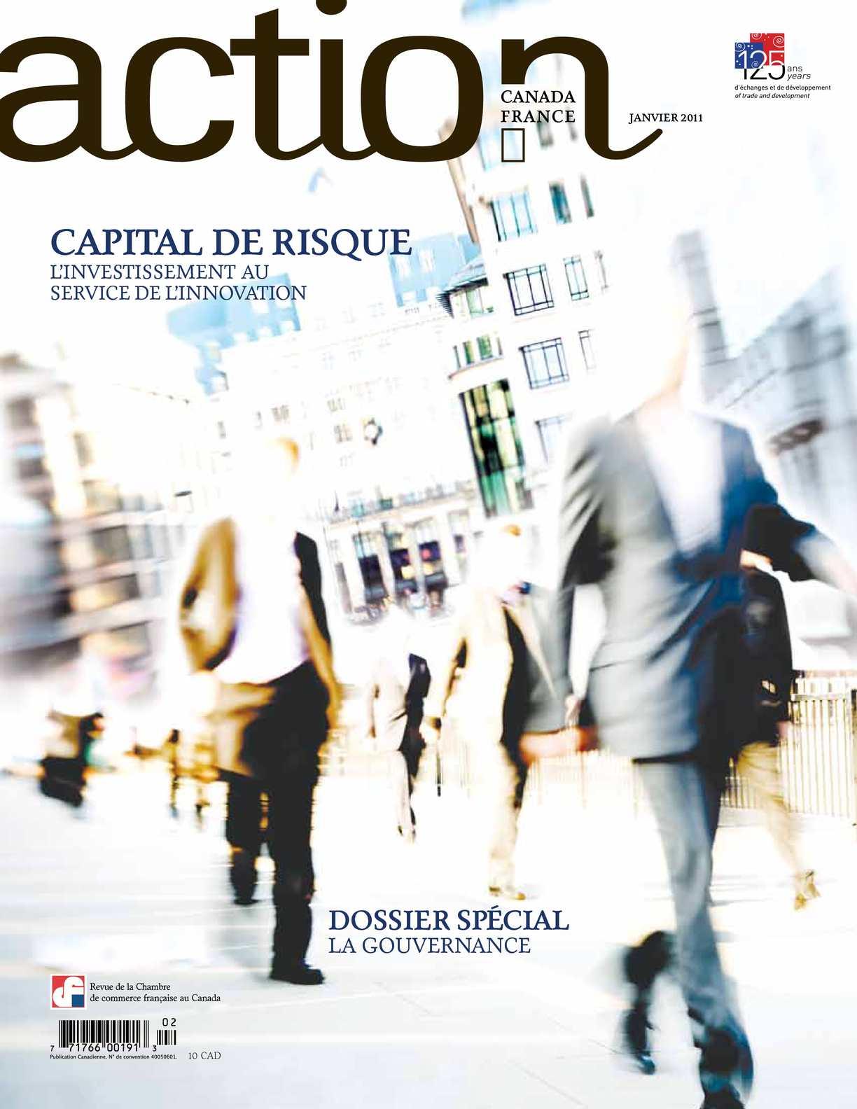 Calam o revue action canada france capital de risque for Chambre de commerce francaise au canada