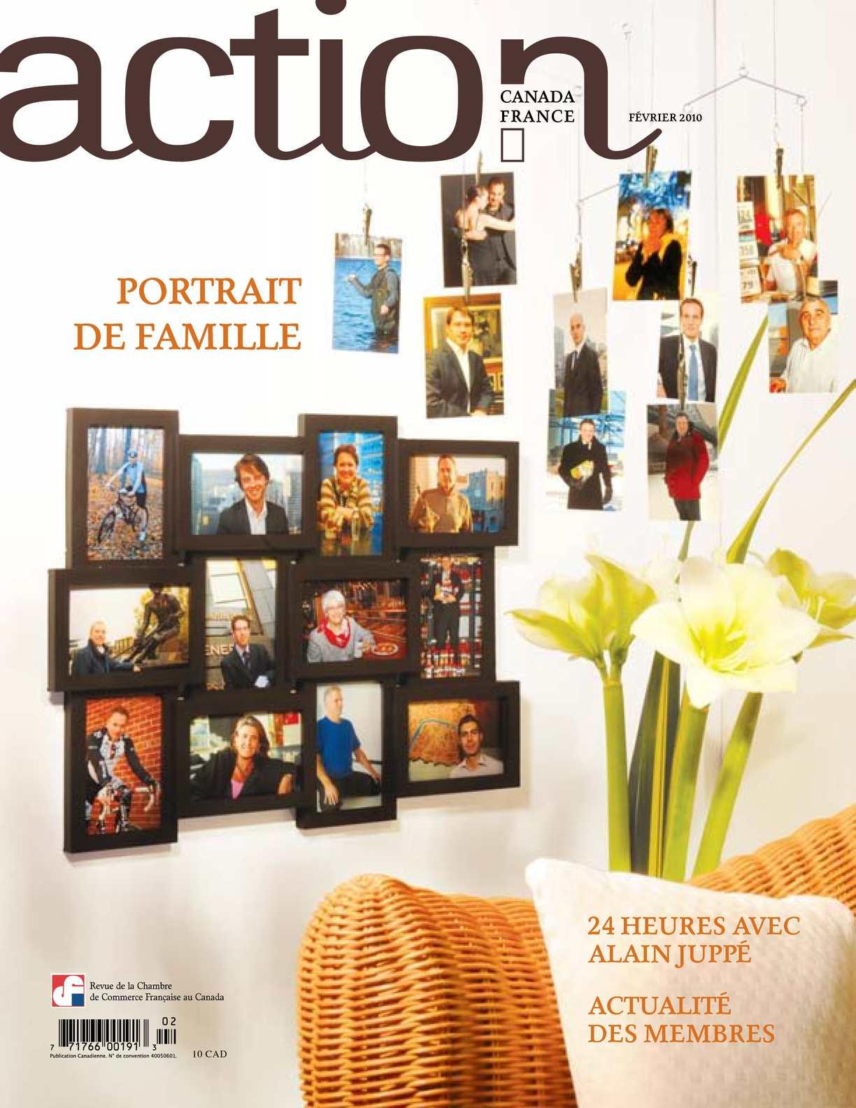 Calam o revue action canda france portrait de famille for Chambre de commerce francaise au canada