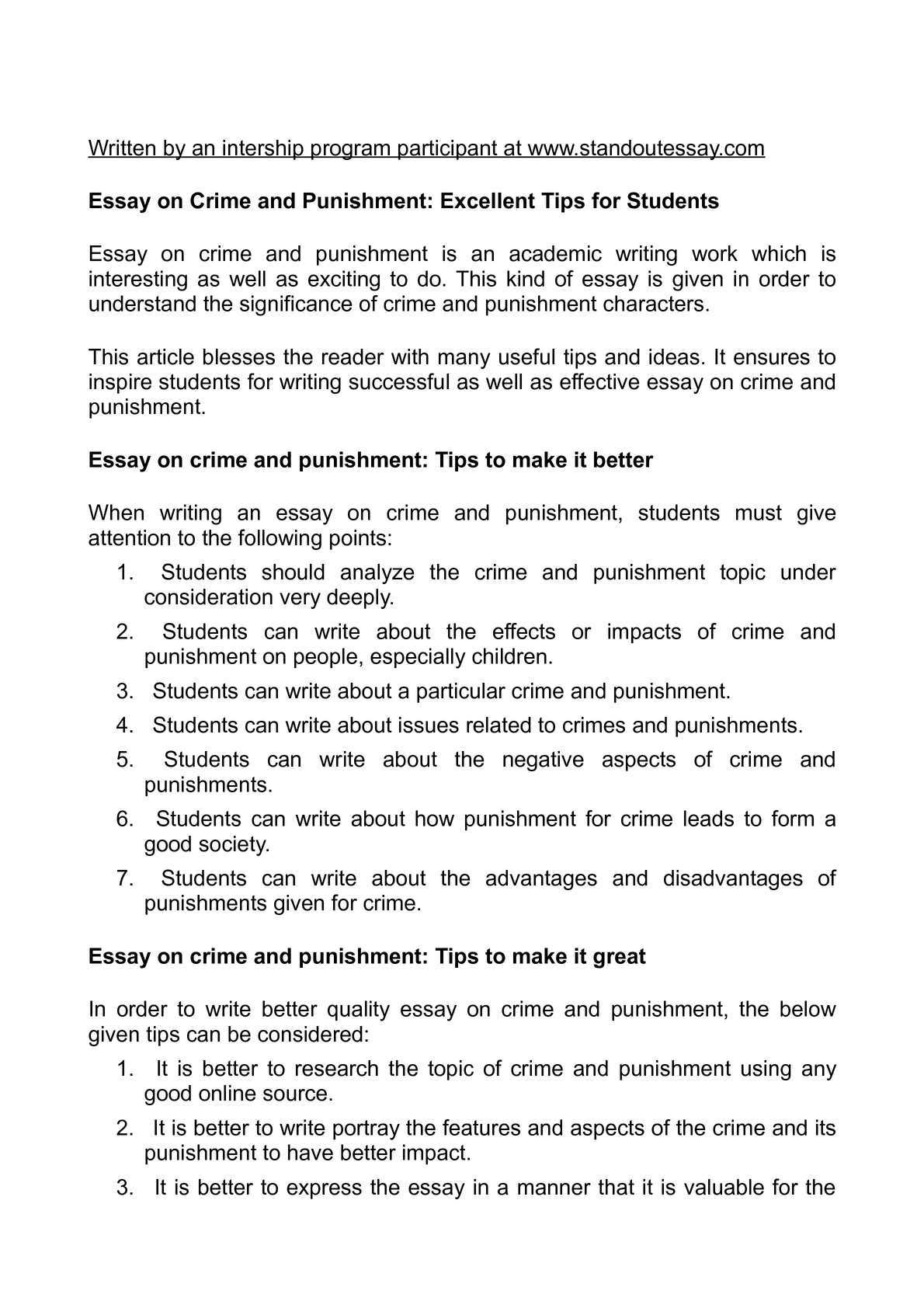 Modern Science Essay  The Thesis Statement In A Research Essay Should also Sample Essay Paper Calamo  Essay On Crime And Punishment Excellent Tips For Students A Thesis For An Essay Should