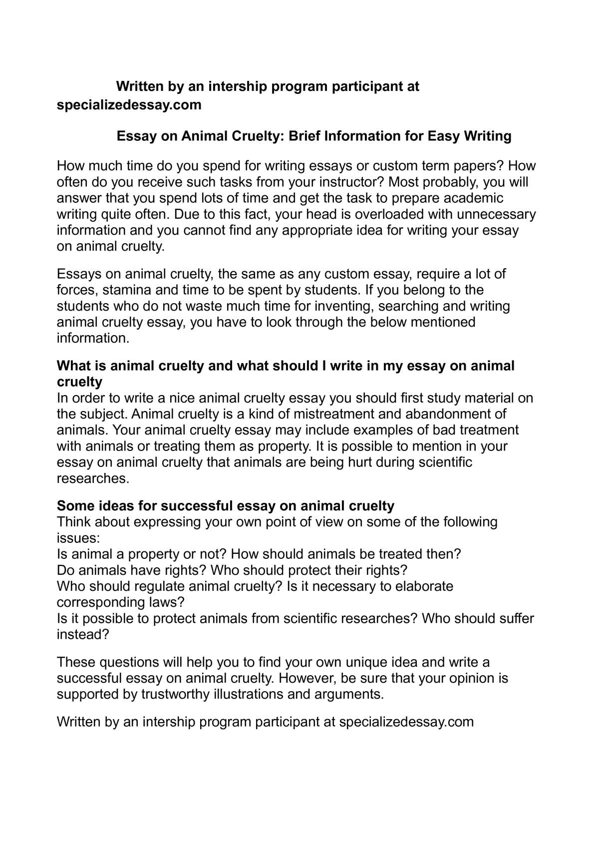 simple essay leopard A short guide to close reading for literary analysis use the guidelines below to learn about the practice of close reading overview the poem subject.