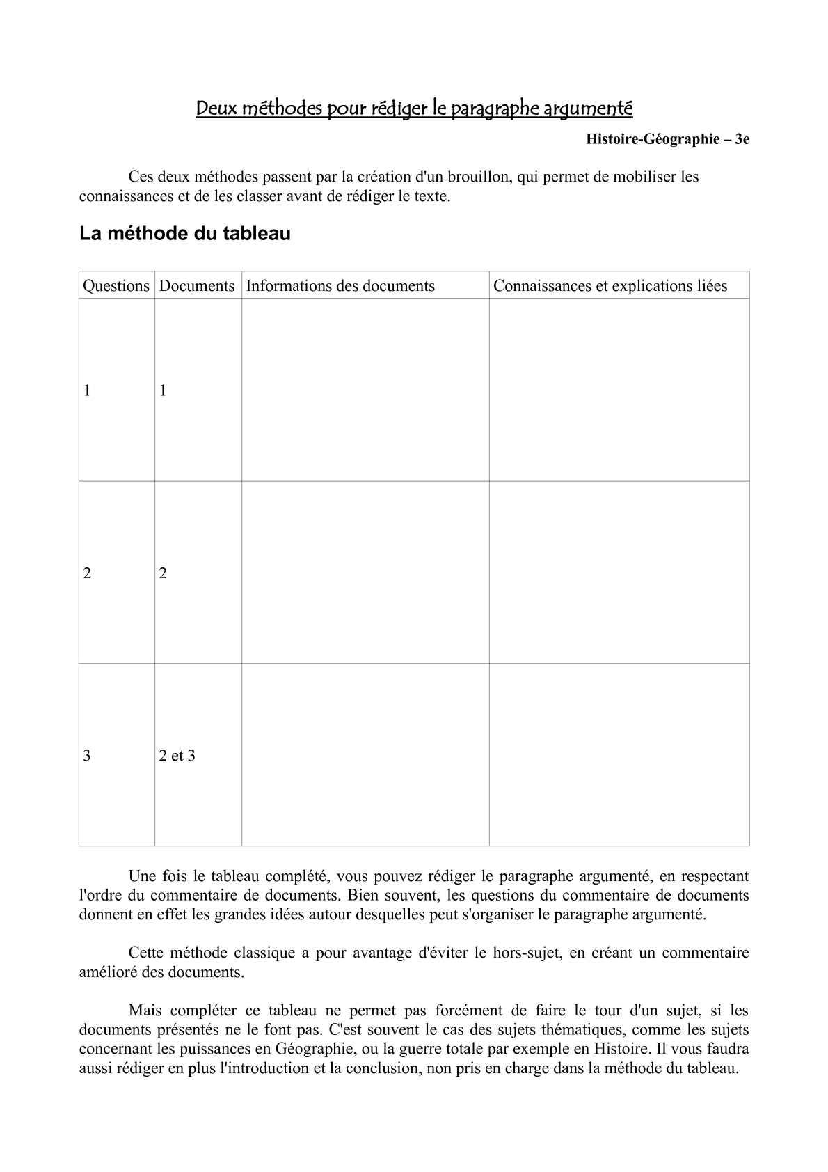 rediger un paragraphe de dissertation Préparation à l'épreuve de français exemple d'un paragraphe axé sur un seul argument 1  on peut consulter le plan de cette dissertation.
