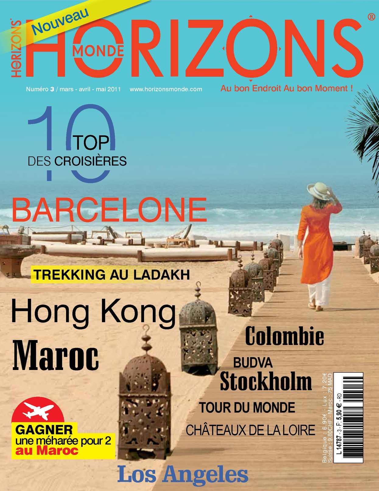 magazine HORIZONS MONDE n° 3 printemps 2011