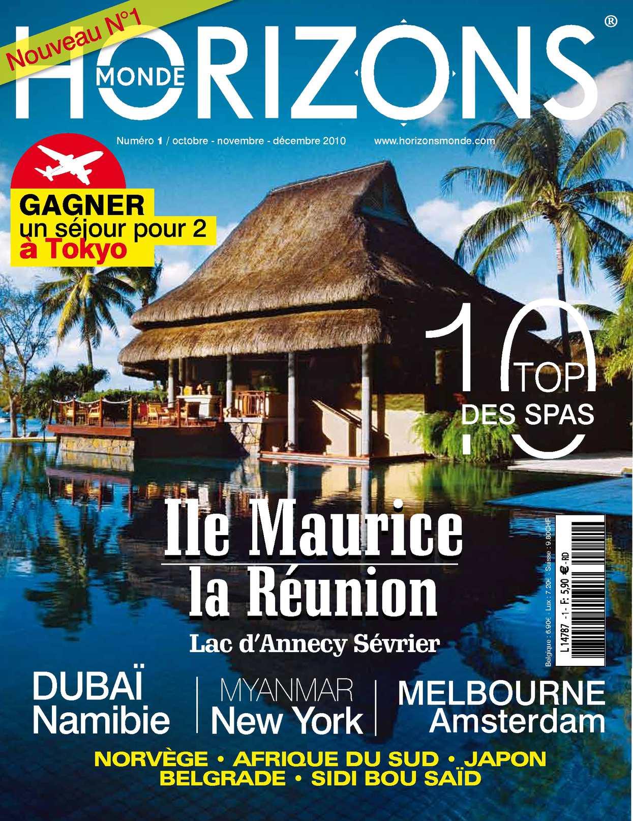 magazine HORIZONS MONDE n°1 automne 2010