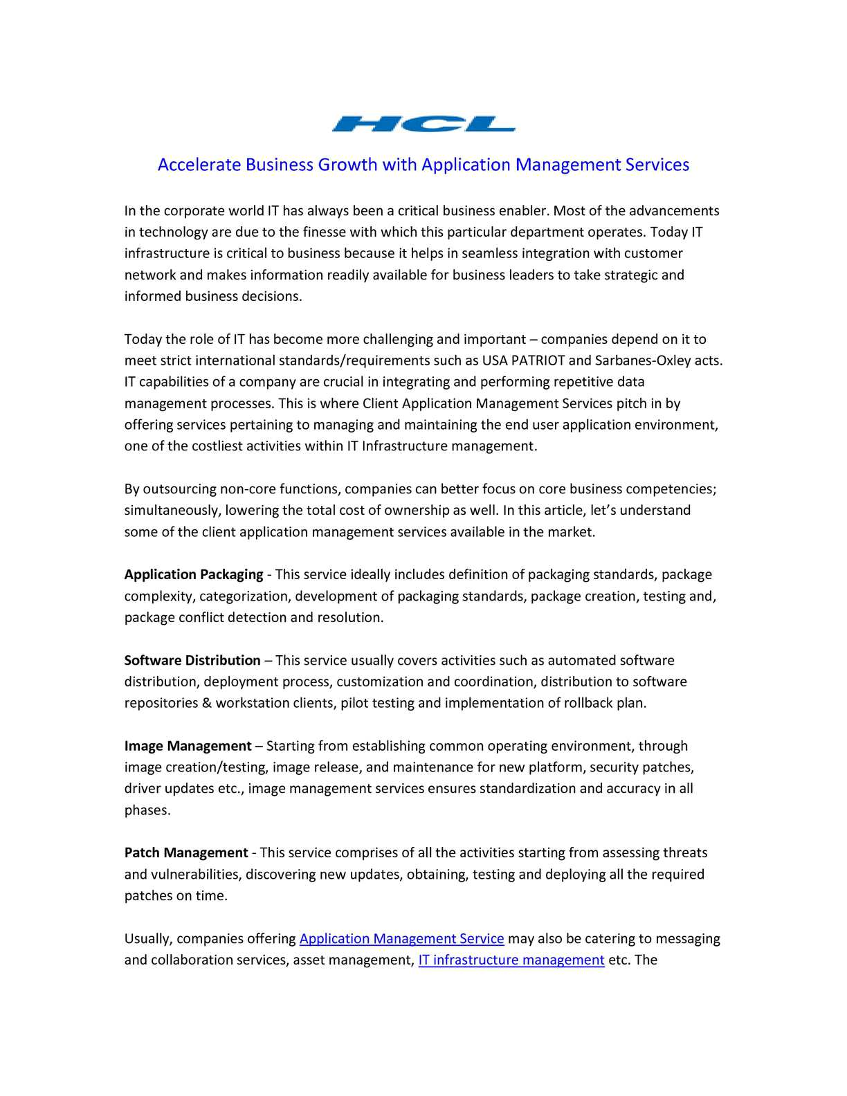 Calaméo   Accelerate Business Growth With Application Management Services
