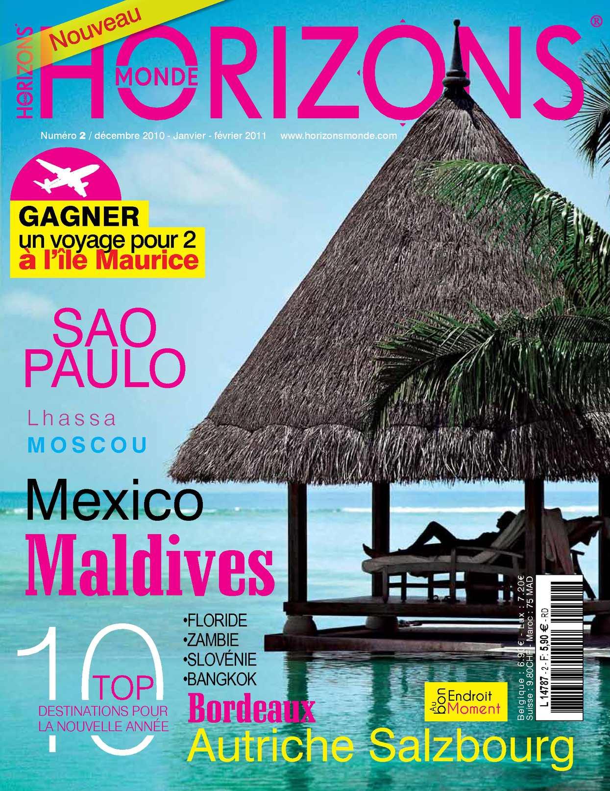 magazine HORIZONS MONDE n°2 Hiver 2010