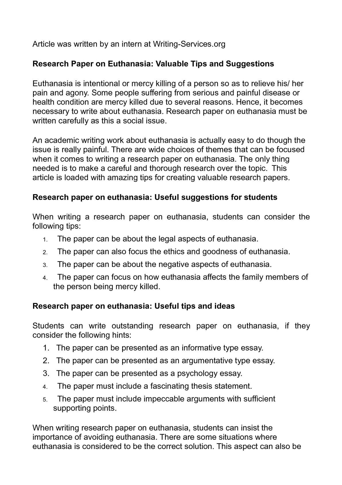 euthanasia term papers This is just a sample euthanasia research paper , euthanasia research paper help, euthanasia research papers term papers, research papers.