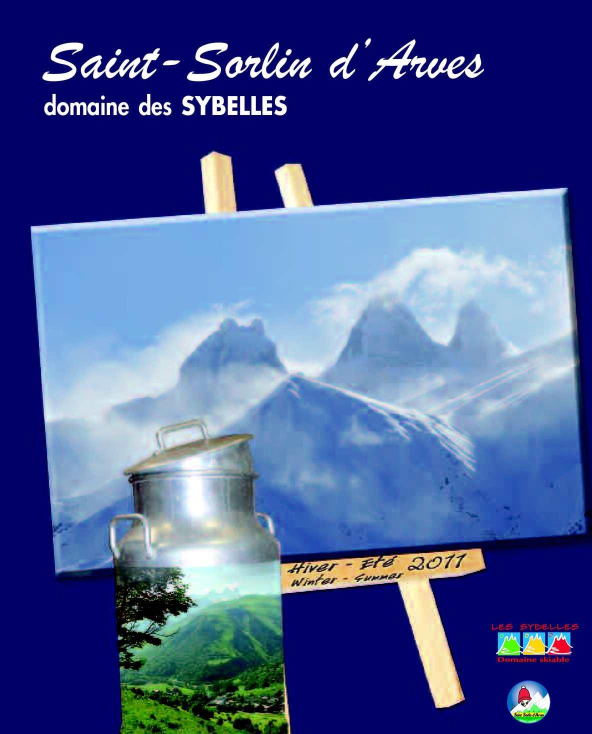 Calam o saint sorlin d 39 arves brochure 2011 - Office du tourisme saint sorlin d arves ...