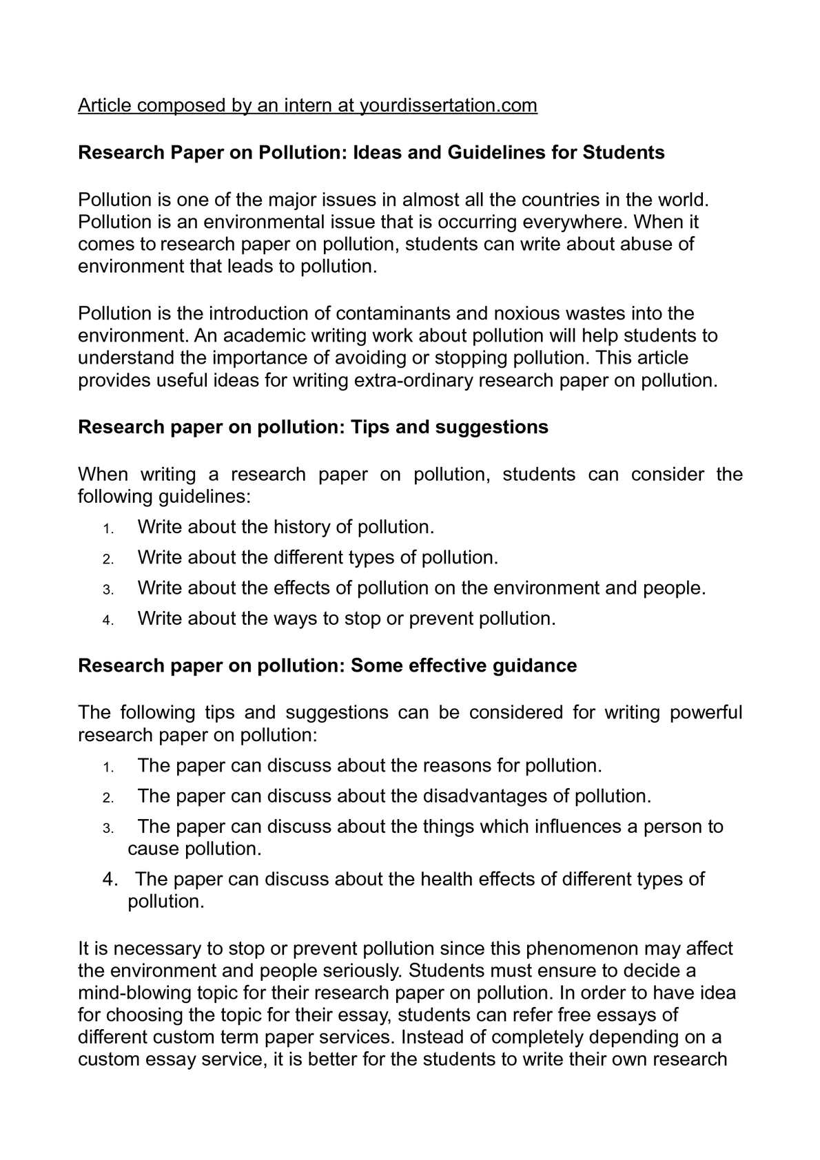 calam eacute o research paper on pollution ideas and guidelines for calameacuteo research paper on pollution ideas and guidelines for students