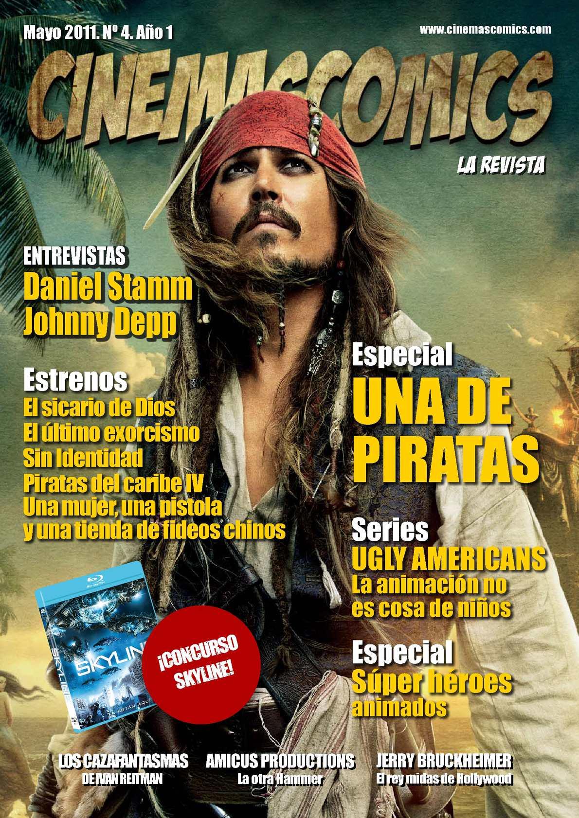 Calaméo - Nº 4. Cinemascomics  La revista. Mayo 95d69bda8a3