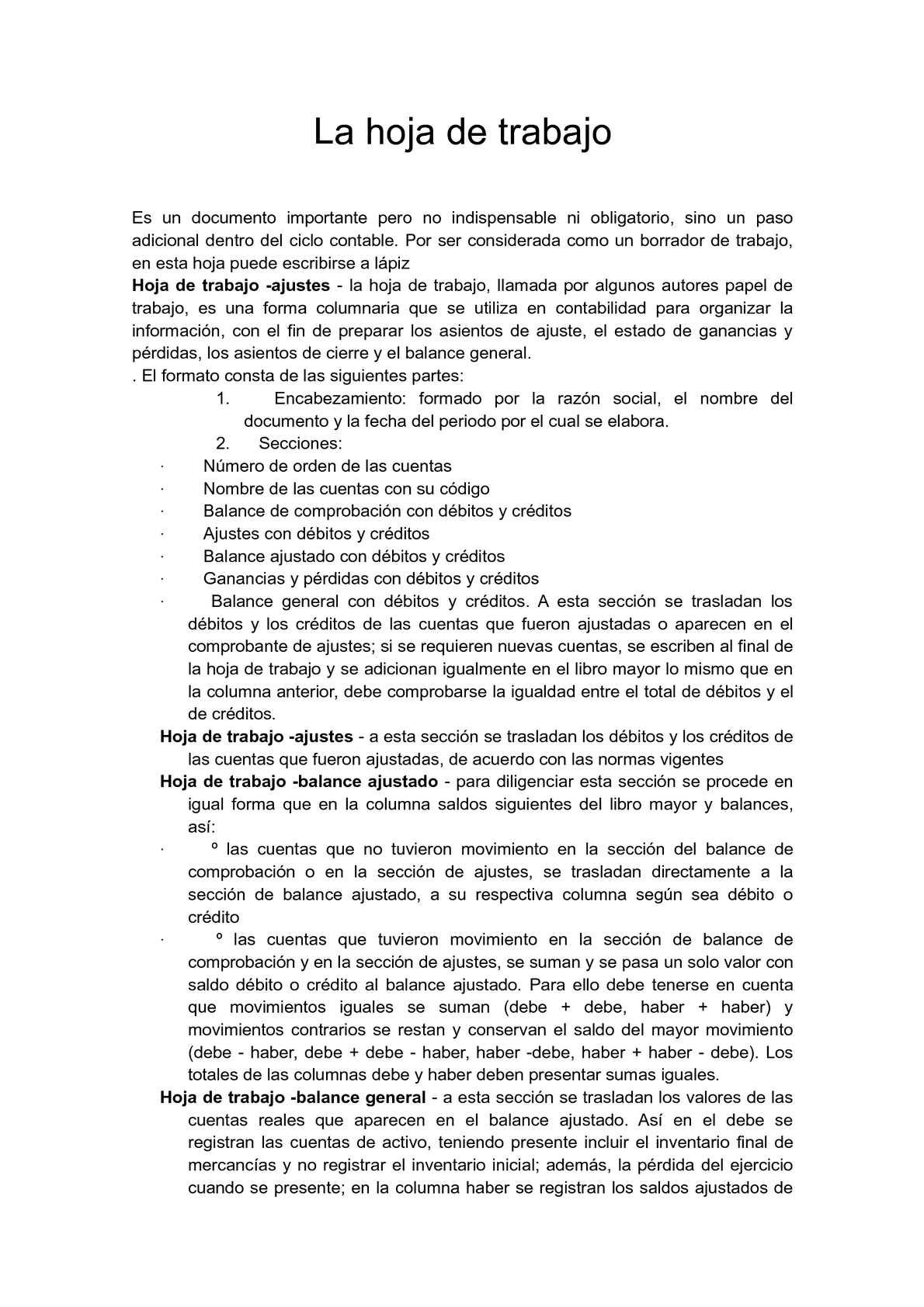Calaméo - TEORIA DE HOJA DE TRABAJO