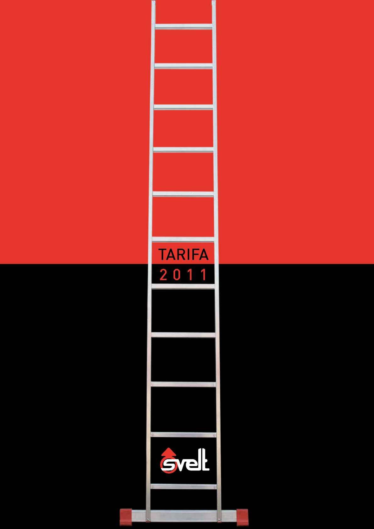 Calam o catalogo escaleras taburetes y andamios m viles for Cubre escaleras