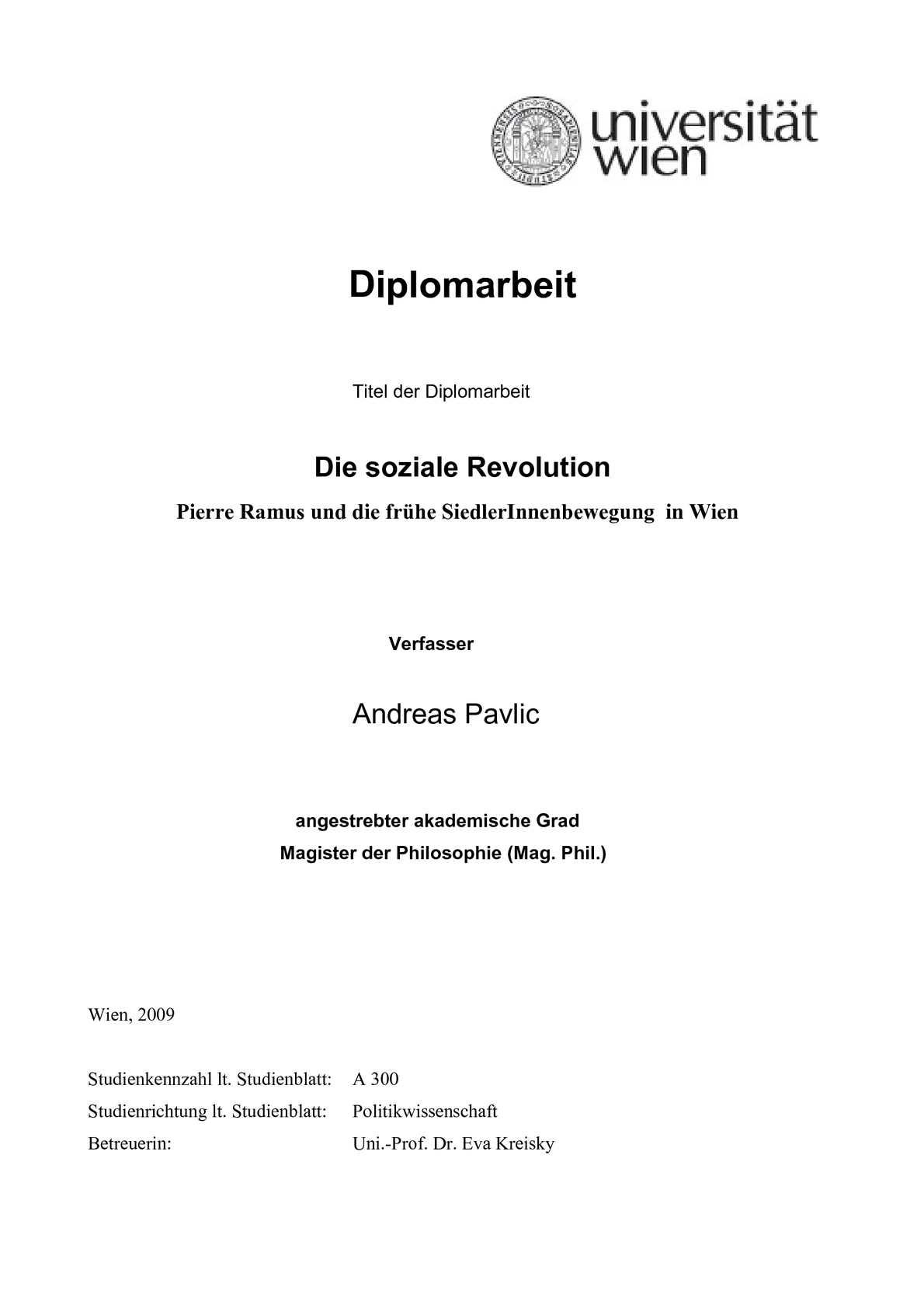 Calaméo - Die Soziale revolution - Pierre Ramus von Andreas Pavlic