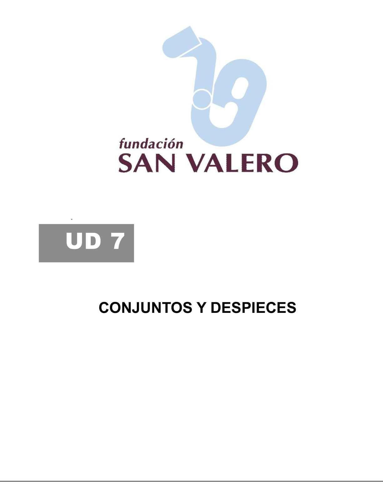 Calamo  UD07CONJUNTOS Y DESPIECES