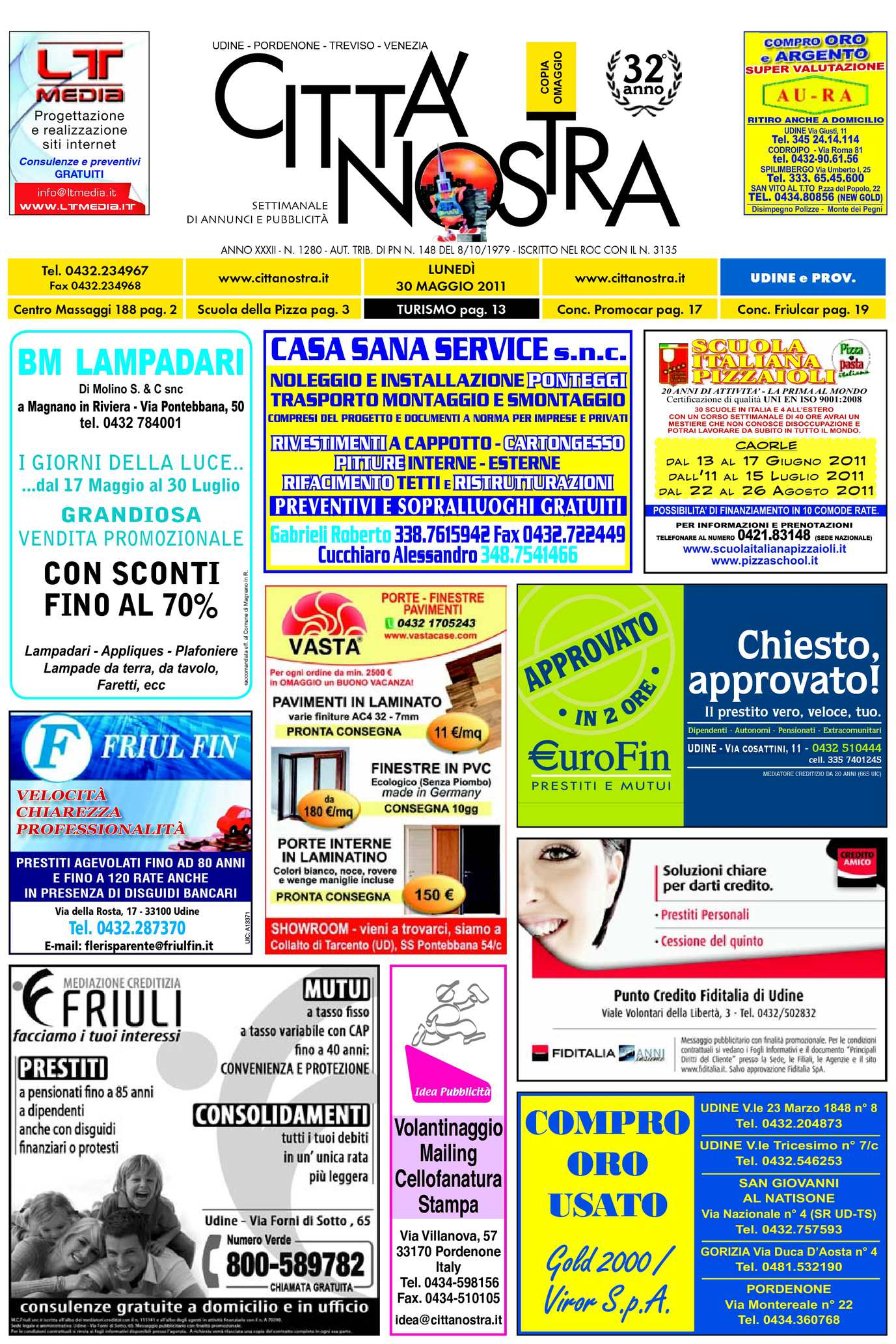 Calaméo Citt Nostra Udine Del 30 05 2011 N 1280