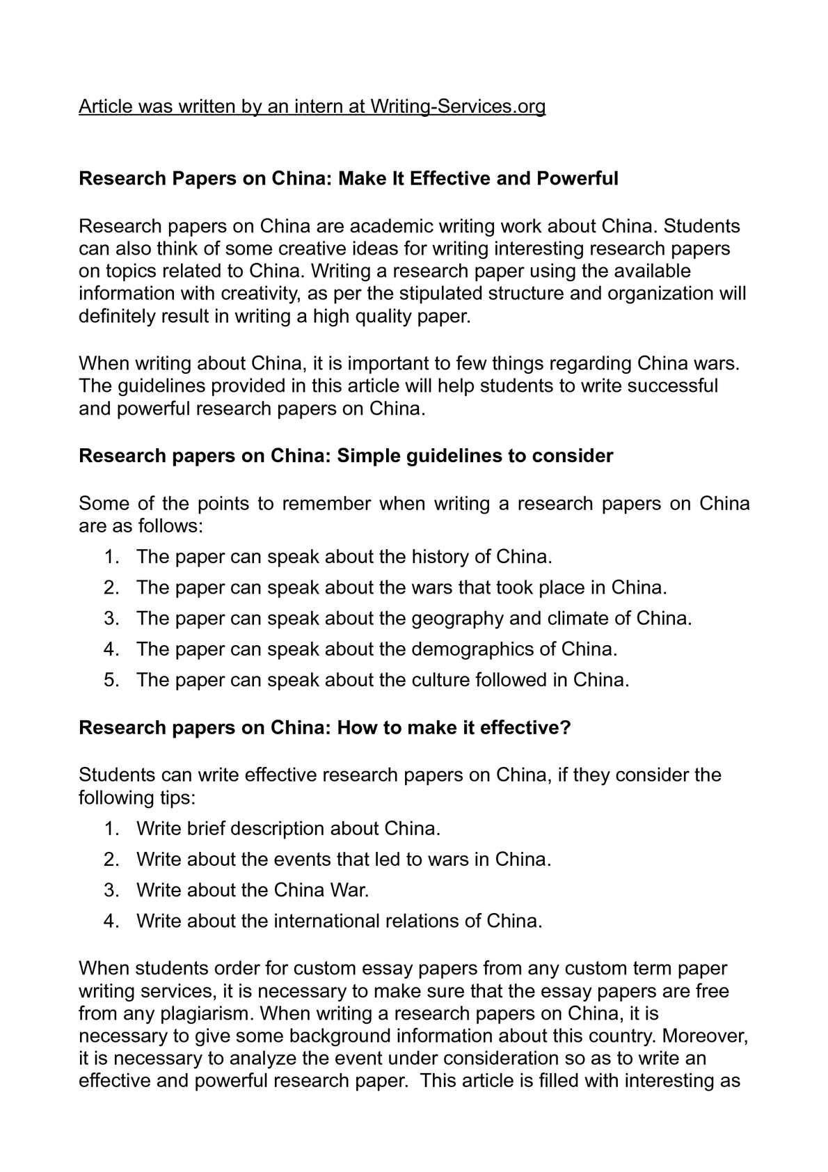 chinese research papers