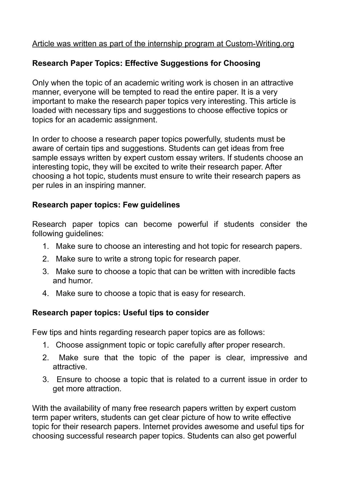 Outline Problem Solving Essay