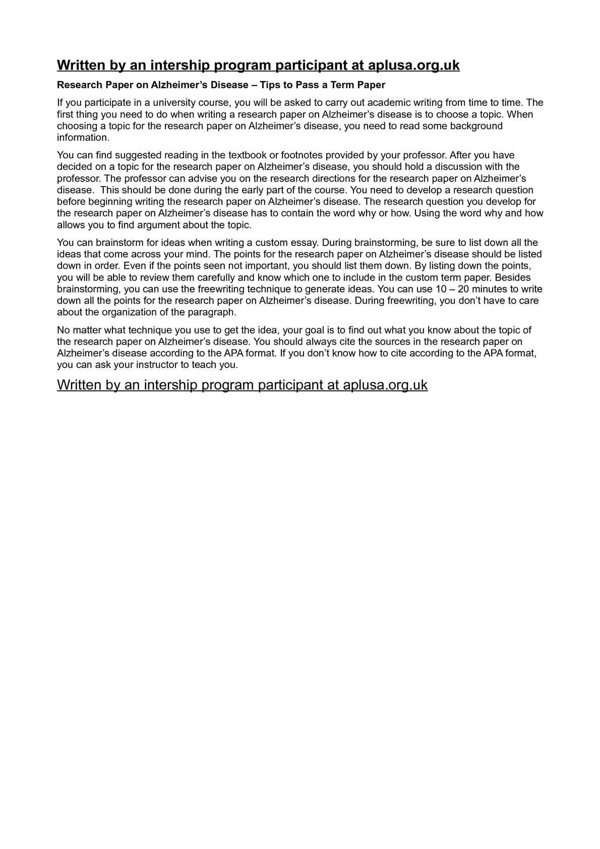 Essay on Organ Donation