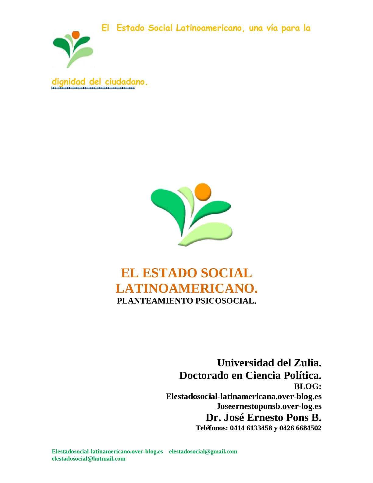 Calaméo - Propuesta del ESTADO SOCIAL LATINOAMERICANO