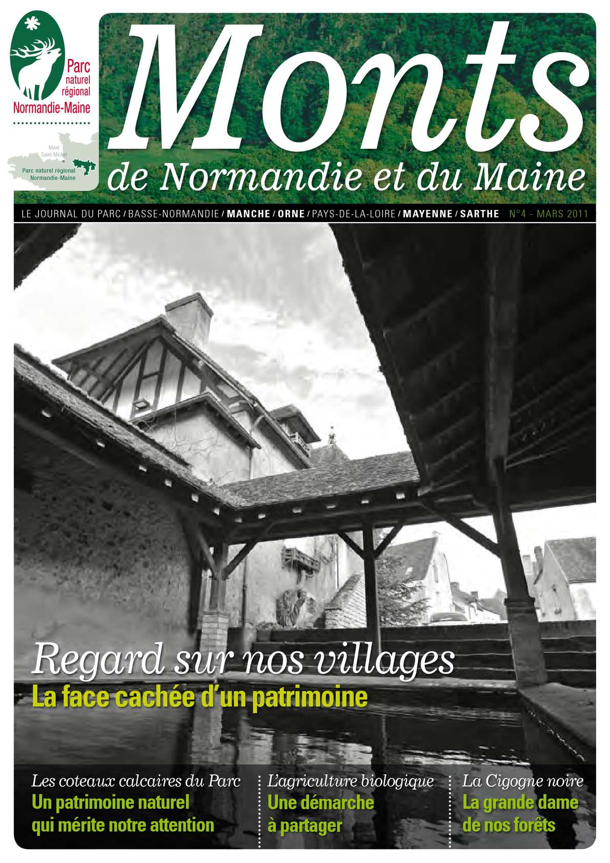 Calam o monts de normandie et du maine journal du parc n 4 mars 2011 - Journal basse normandie ...