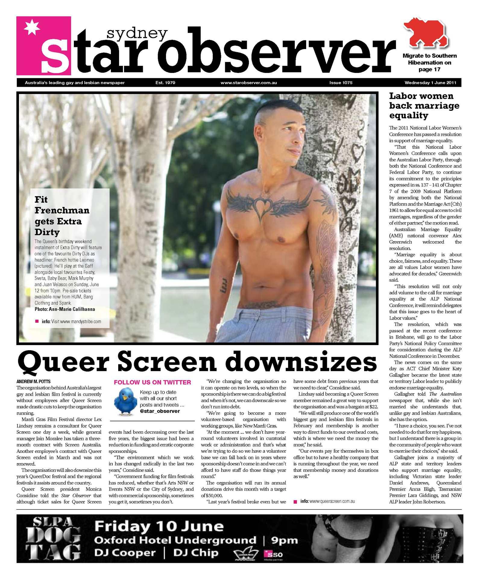 Calamo Sydney Star Observer Issue 1075