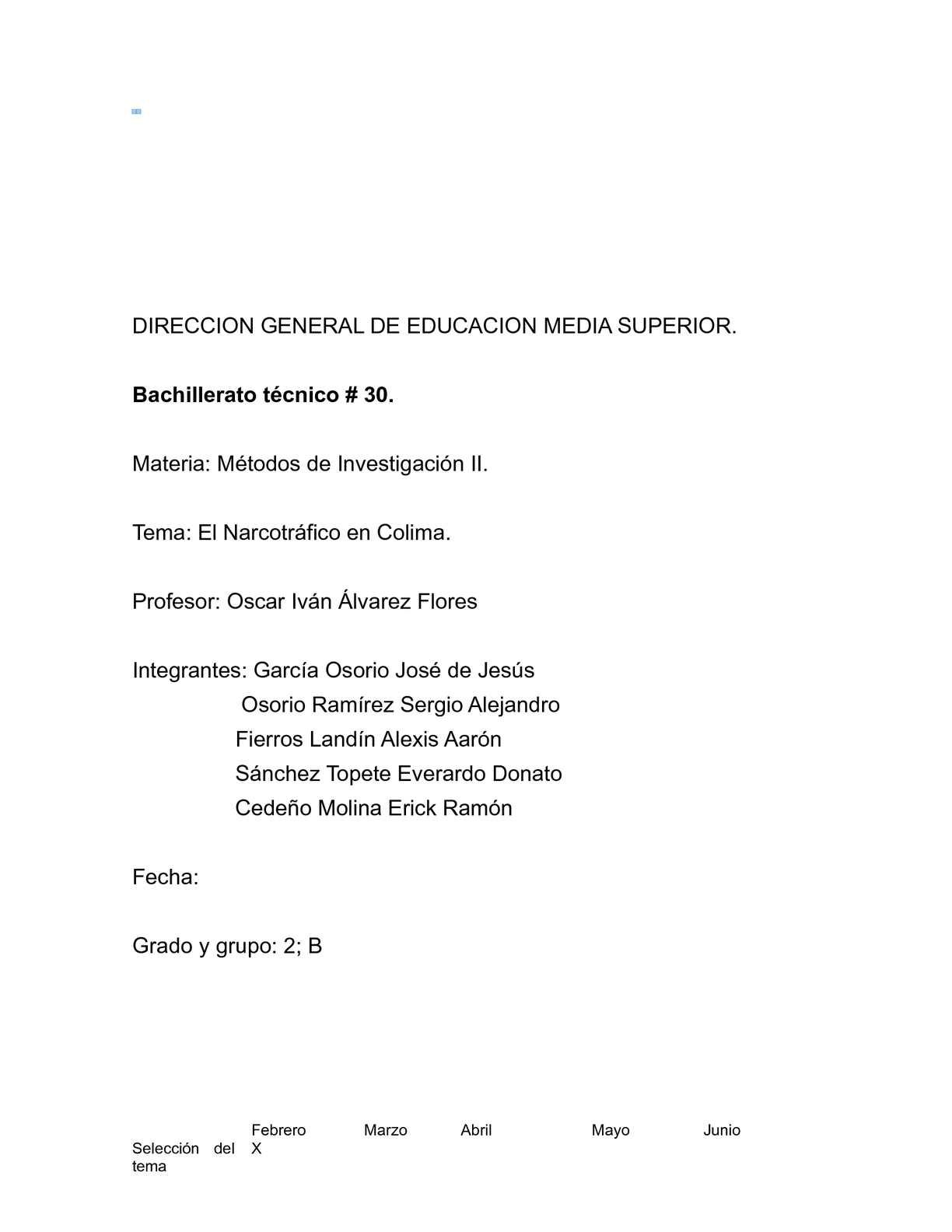 Calaméo - Trabajo de Metodos de Investigacion (El narcotrafico)