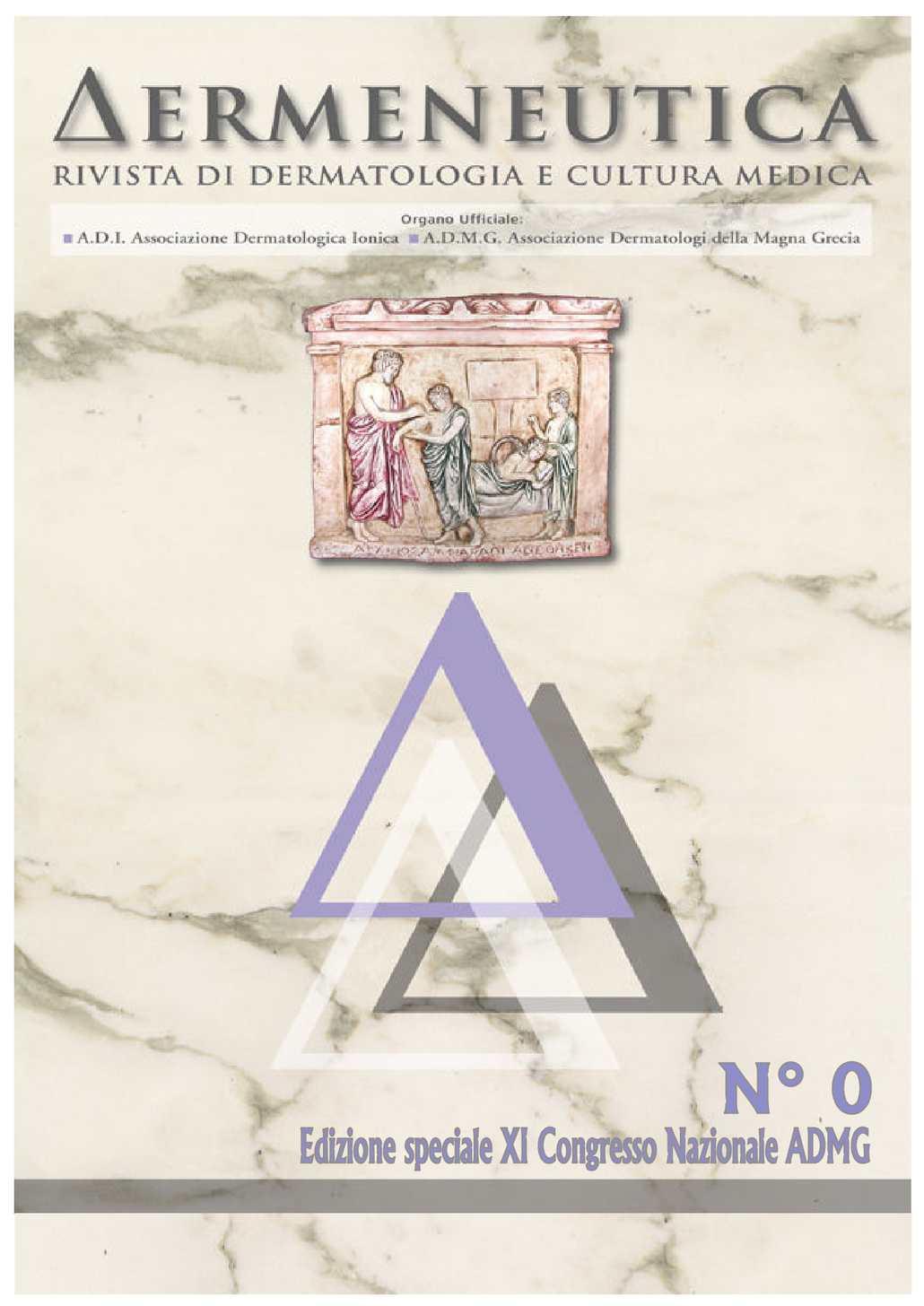 Calaméo Dermeneutica Anno 3 N.0 Edizione Speciale XI Congresso Congresso XI 00b319