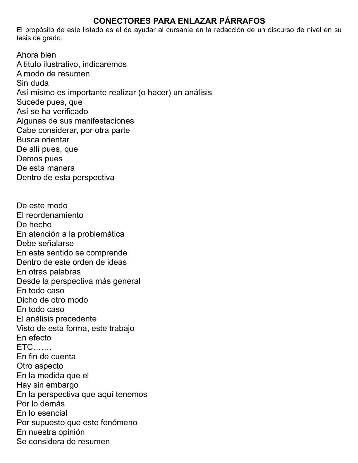 Calaméo - CONECTORES PARA ENLAZAR