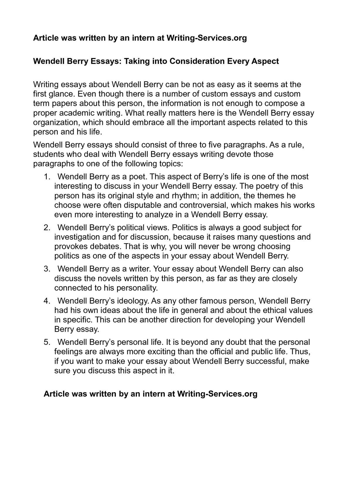 Goal Essay Sample  Essay 1984 also Essay On Raksha Bandhan In Hindi Calamo  Wendell Berry Essays Taking Into Consideration Every Aspect How To Write A Good English Essay