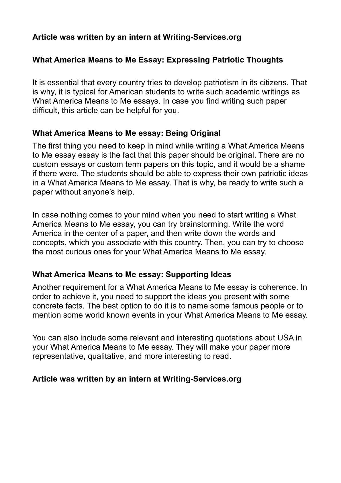 what patriotism means to me 3 essay Search results does patriotism still matter year's theme: does patriotism still matter essays must not exceed 400 words and be submitted to the post, along with the completed patriot's pen entry form no.